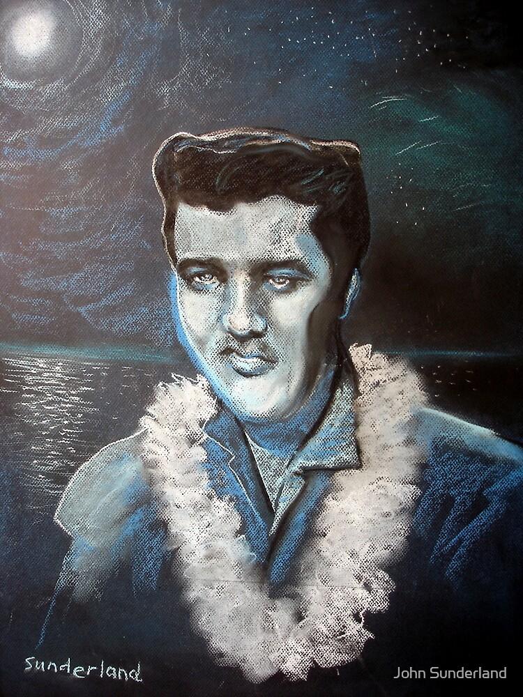 Blue Hawaiian by John Sunderland