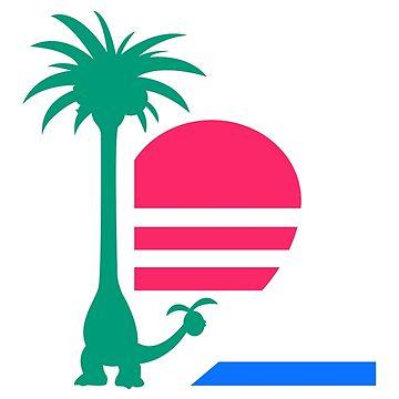 Alolan palm by LabRatBiatch