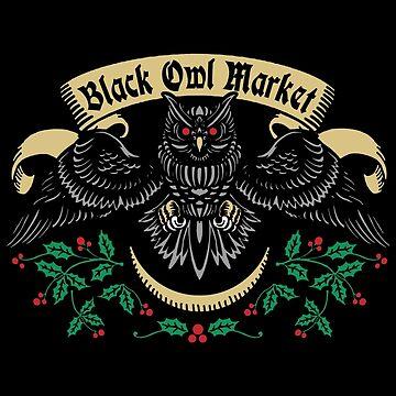 Black Owl Market by nikolking