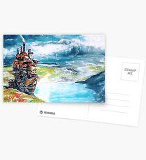 Howl's Moving Castle Postcards