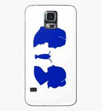 Milkshake Silhouette (V+B | Blue) Case/Skin for Samsung Galaxy