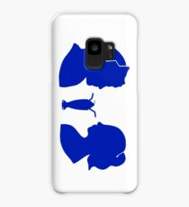 Milkshake Silhouette (J+B | Blue) Case/Skin for Samsung Galaxy