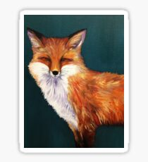 Sly Fox  Sticker
