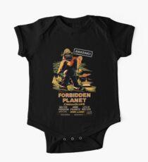 Forbidden Planet Poster Kids Clothes