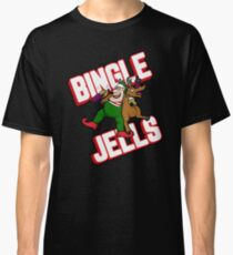 Funny Christmas Drinking Shirt - Bingle Jells Classic T-Shirt
