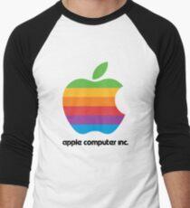 Apple Computers Inc Men's Baseball ¾ T-Shirt