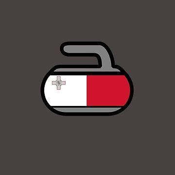 Malta Rocks! - Curling Rockers by bubgum