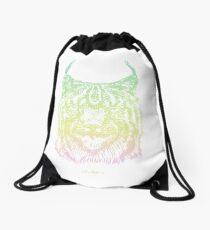 Lynx In Space Drawstring Bag