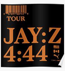 jay z 444 tour 2018 pahoman Poster