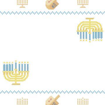 Ugly Hanukkah Sweater, Matzo Baller, Jewish shirt by taraJcreative