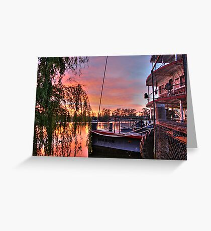 Ps Marion at Sunrise Greeting Card
