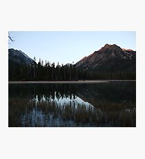 Mcdonald Lake Photographic Print