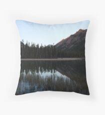 Mcdonald Lake Throw Pillow