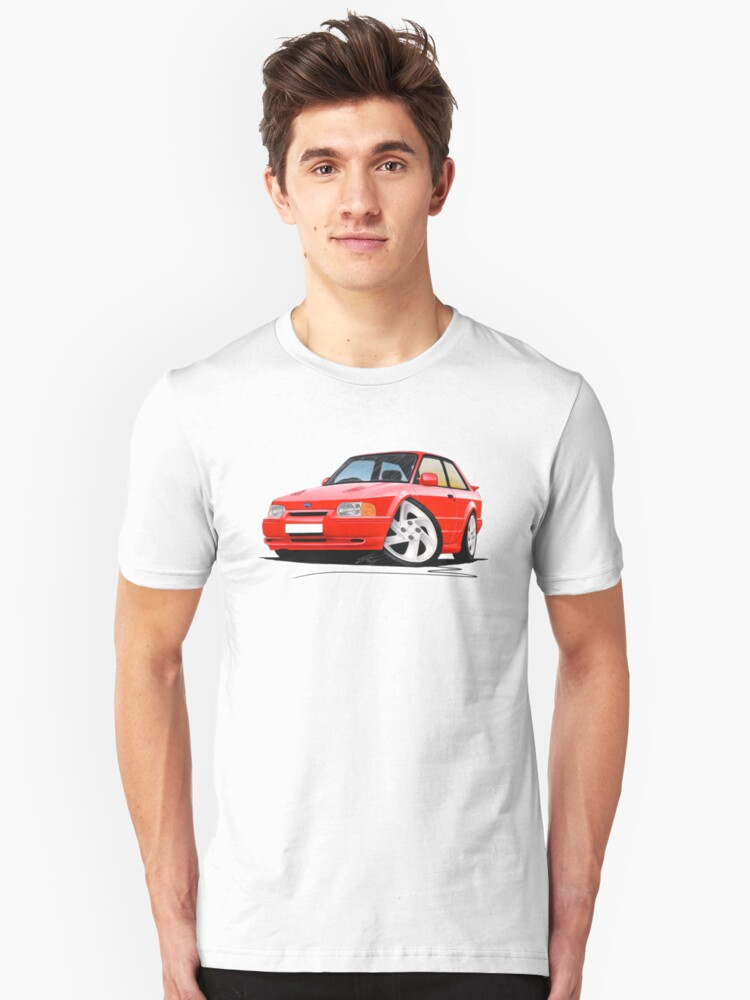 Ford Escort RS Turbo S2 Red by yeomanscarart