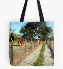 Short Road Tote Bag