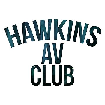 Stranger Things Inspired Hawkins AV Club Woods Firefly by ccheshiredesign