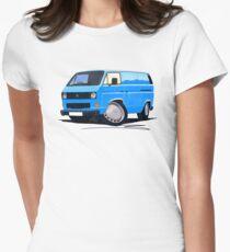 VW T25 Transporter Van Blue T-Shirt