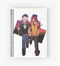 Night Walk Spiral Notebook