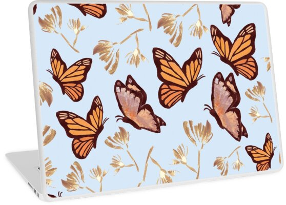 Watercolor Butterflies by BoissinDesign