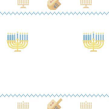 Ugly Hanukkah Sweater, Oy to the World, Funny Jewish shirt by taraJcreative