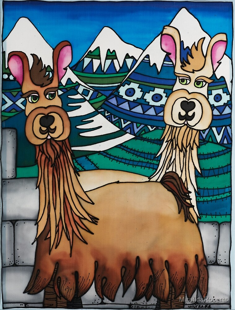 A Spittoon of Alpacas by MirandaRoberts