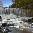 Crumlin River Waterfall by Derek Smyth