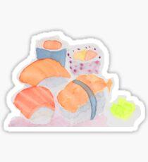 Sushi (acuarelas) Sticker