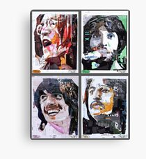 Cool Ages - The 60s Canvas Print