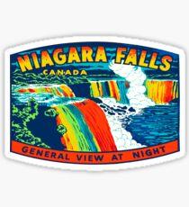 Vintage Niagara Falls decal USA Sticker