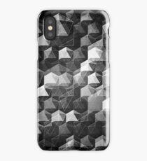 AS THE CURTAIN FALLS (MONOCHROME) iPhone Case/Skin