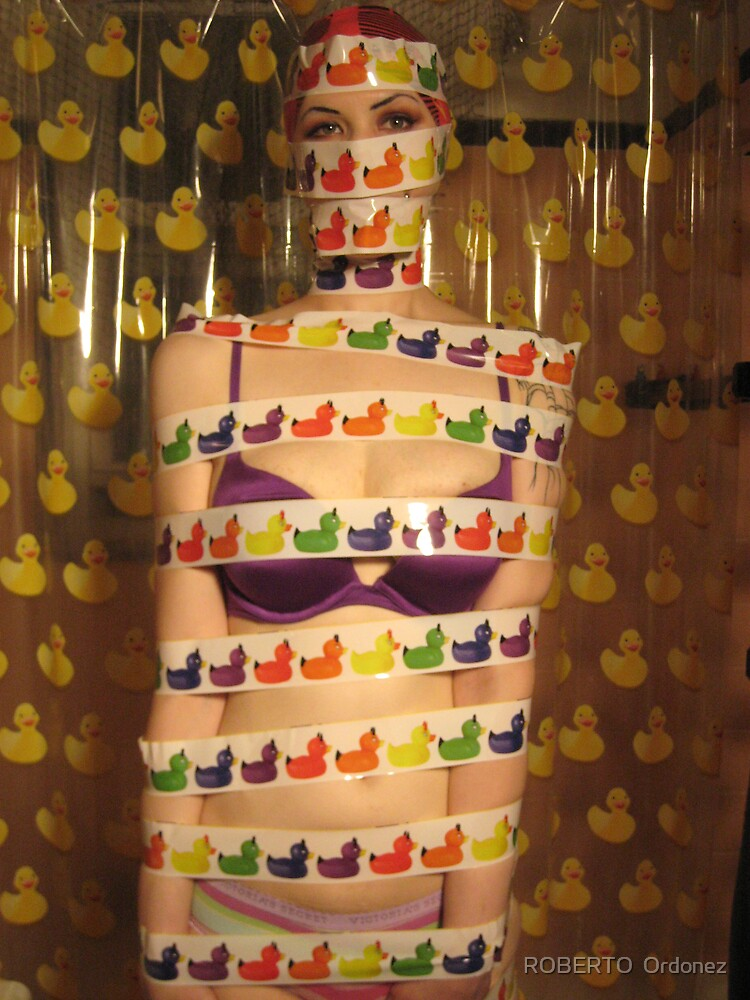 duck tape by Robert Ordonez
