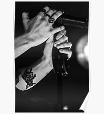 Harry styles hands x rings Poster