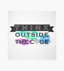 Think Outside the Cage - Colorful Scarf