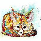 """""""Du bist so Foxy"""" - Fennec Fox von ElisetteArt"""