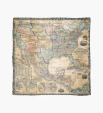 1856 Mitchell Wall Map of the United States and North America - Geographicus - AmerNorthWall-m-1856 Scarf