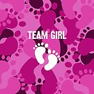 Team Girl - Gender Reveal by Wave Lords United