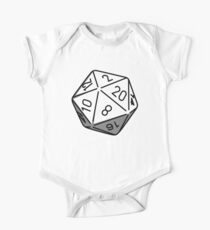 Simple D20 One Piece - Short Sleeve