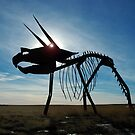 Prairie Prehistoric Art by Jerry Walter