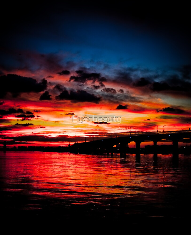Painted Sunrise - Miami by Eyecbeauty