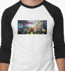 'Mech Racer' Baseball ¾ Sleeve T-Shirt