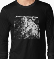 Cracked Wood Creature - Shee Texture / Pattern Long Sleeve T-Shirt