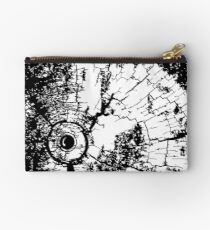 Cracked Wood Creature - Shee Texture / Pattern Studio Pouch