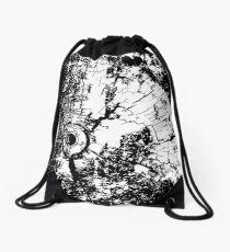 Cracked Wood Creature - Shee Texture / Pattern Drawstring Bag