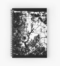 Cracked Wood Creature - Shee Texture / Pattern Spiral Notebook