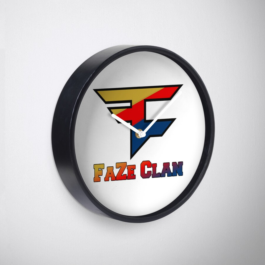 Faze clan clocks by lewisbradford redbubble faze clan buycottarizona