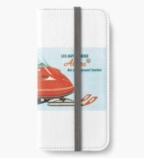 1970 Ariens Snowmobile iPhone Wallet/Case/Skin