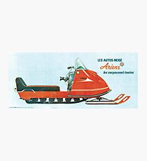 1970 Ariens Snowmobile Photographic Print