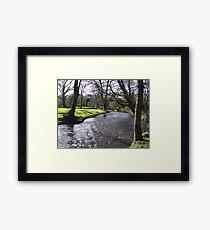 Blarney Castle - River Framed Print