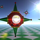 Orbiting Ornaments by Keith Reesor