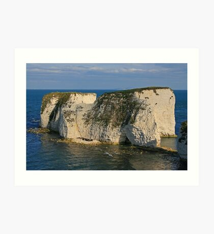Sympathy for Old Harry Art Print